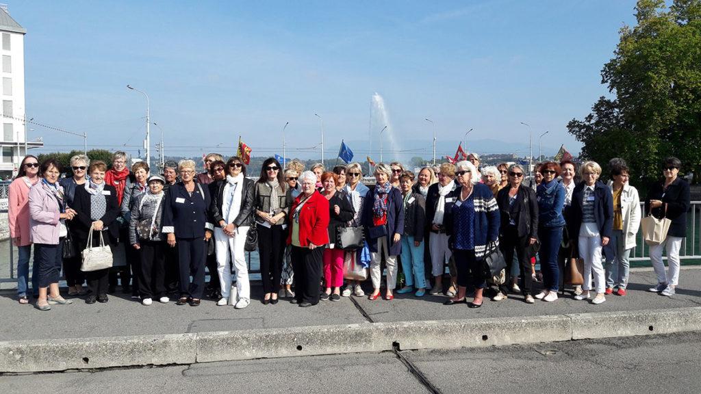 Les adhérentes de l'ACMS Femmes Élues de Savoie ont visité LE CERN à Genève l'un des plus grands et des plus prestigieux laboratoires scientifiques du Monde.