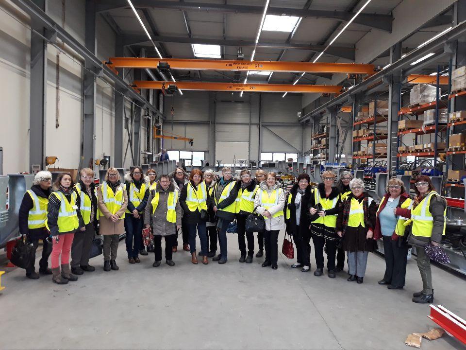 Le vendredi 15 Mars 2019 a été organisée une visite sur le site de production POMA à Gilly-Sur-Isere Spécialiste du transport par câble. Visite de l'usine en présence de Monsieur Emmanuel BELMONTE responsable des ressources Humaines et de Monsieur Pierre LOUBET Maire de la commune.